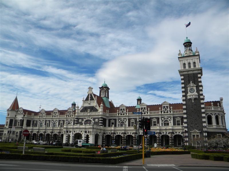 Dunedin Train Station - the most photographed building in New Zealand