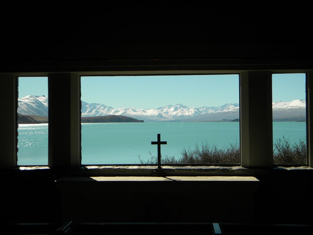 Church view at Lake Tekapo