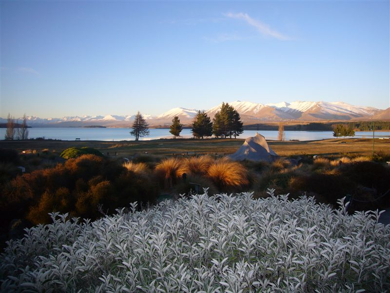 Stunning..........sunset at Lake Tekapo