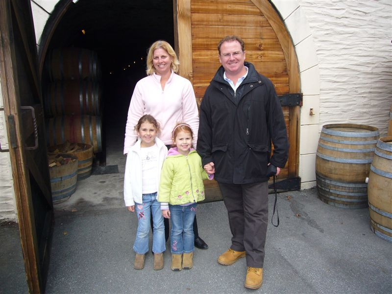 Gibbston Valley Winery has the only cave wine tasting tour and well worth doing