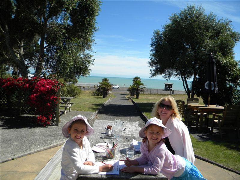 Cape Kidnappers cafe