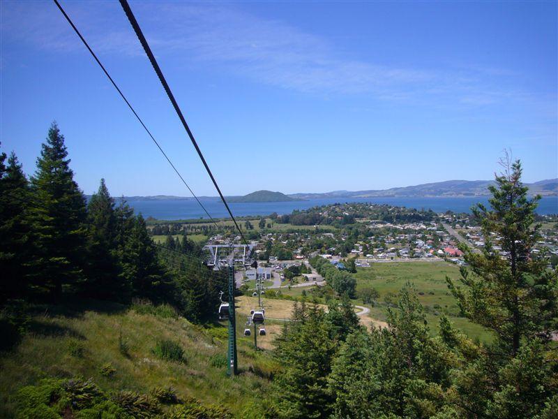 Views over Rotorua